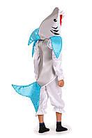 Детский карнавальный костюм Акула на рост 120-130 см, фото 1