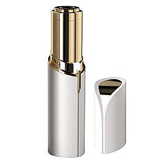 ➀Женский триммер депилятор для лица Flawless White губная помада эпилятор для удаления волос на лице