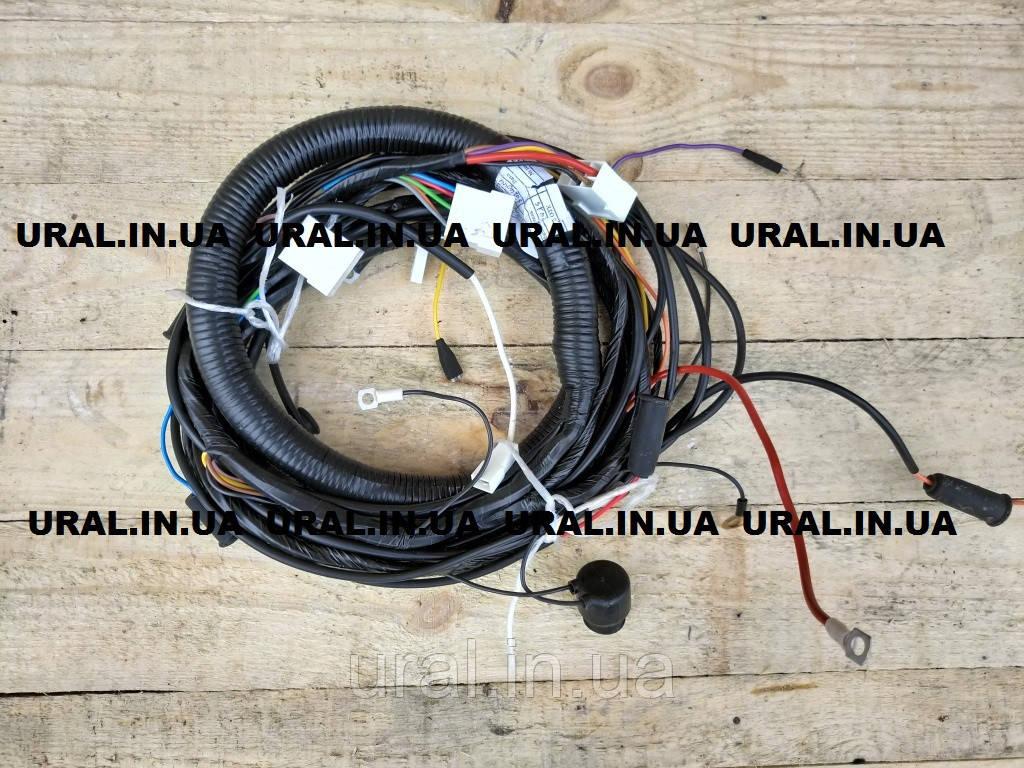 Проводка КАМАЗ 53212 джгут задній правий 53212-3724044