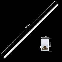 Світильник світлодіодний Biom 18Вт 6000K AC220 пластик з кнопкою, фото 2