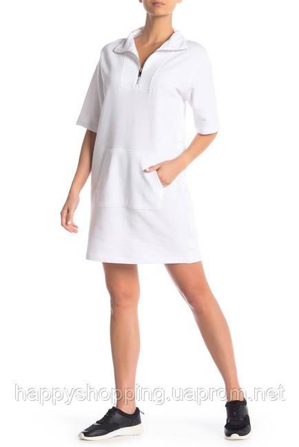Женское оригинальное белое платье с карманами DKNY (Размер - XS,S)