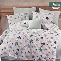 """Комплект постельного белья евро Majoli """" Galaxy V2 Green"""