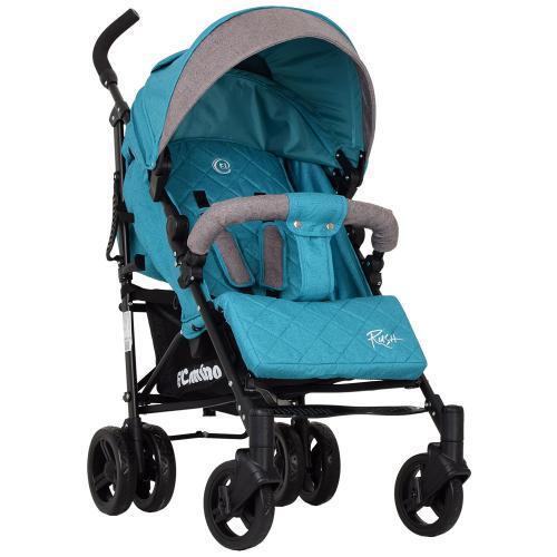 Коляска дитяча ME 1013L RUSH Turquoise