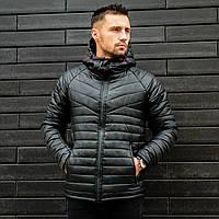 Мужская зимняя куртка Найт черная (0...-15С)