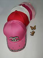 Бейсболка для девочки Размер 54 см, фото 2