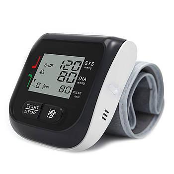 Цифровой тонометр Boxym YK-BPW1 для измерения давления и пульса на запястье электронный измеритель
