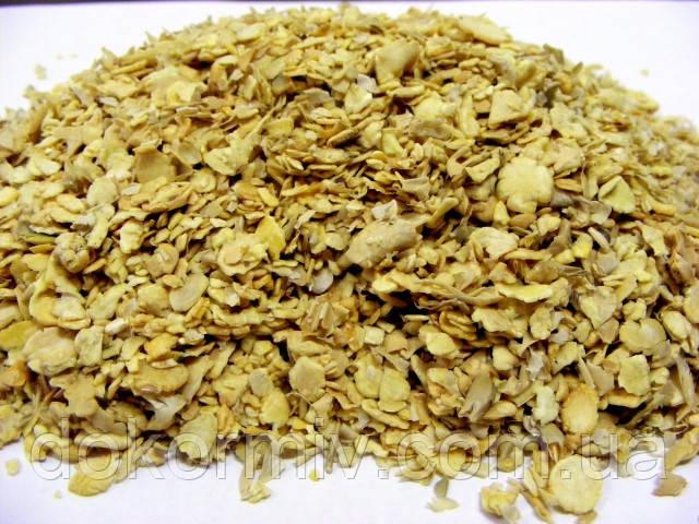 Соевый шрот 48-52% протеина. Без ГМО (кормовая добавка для животных)