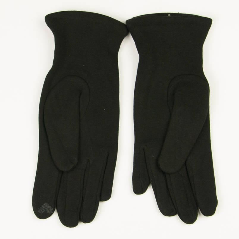 Трикотажные женские перчатки зимние (арт. 19-1-39V1/5) S(6.5), фото 2