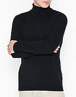 Мужская черная водолазка от Solid Noel Black размер L