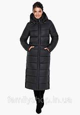 Длинное зимнее пальто с капюшоном, фото 2