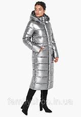Длинное зимнее пальто с капюшоном, фото 3