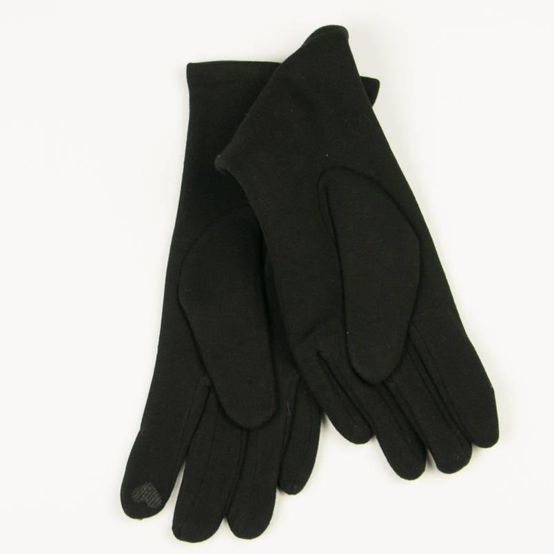 Трикотажные  женские перчатки зимние (арт. 19-1-39V1/6)  S(6.5), фото 2