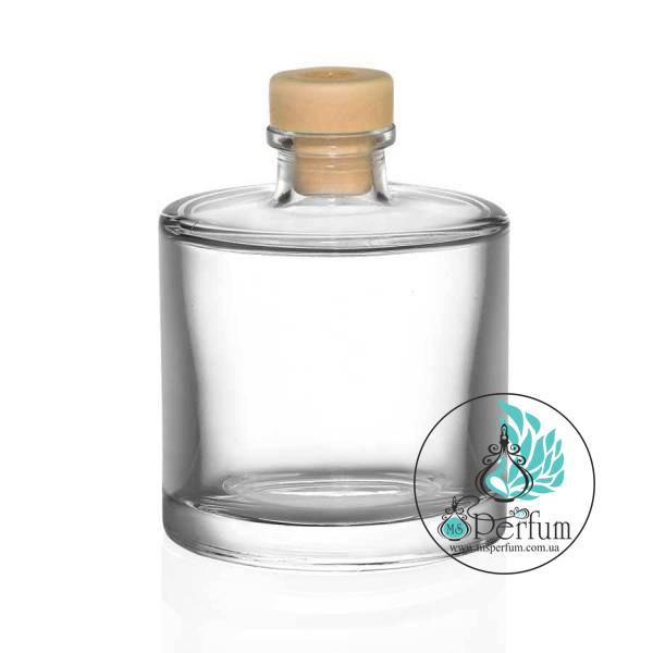 Флакон для диффузора цилиндр комплект ( флакон+крышка+натуральные бамбуковые палочки) – 100 ml
