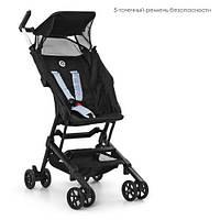 Візок дитячий ME 1033 QWERTY Black прогулянковий, книжка, колеса 4 шт., чорний.