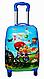 "Детский чемодан на 4 колесах для мальчика ""WAX""  45*31*21, фото 6"