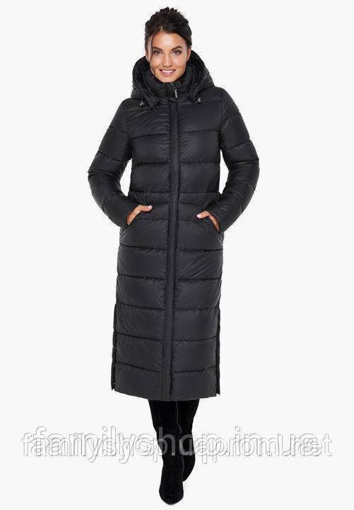 Теплое зимнее пальто большого размера