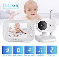 FUERS видеоняня Baby Monitor беспроводная 3,5