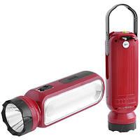 Фонарь светодиодный аккумуляторный Luxury (Yajia) 1050 (1W+11SMD )