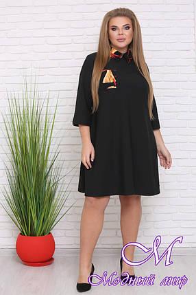 Деловое женское платье больших размеров (р. 42-90) арт. Акцент, фото 2