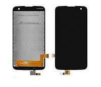 Дисплей для LG K4 LTE | K121 | K120E | K130E | VS425 | K100DS с сенсорным стеклом (Черный) Оригинал Китай