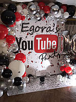 Фотозона YouTube (в стиле Ютуб)