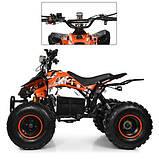 Підлітковий квадроцикл HB-EATV 1000Q2-7(MP3), помаранчевий, фото 3