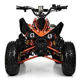 Підлітковий квадроцикл HB-EATV 1000Q2-7(MP3), помаранчевий, фото 4