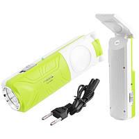 Фонарь светодиодный аккумуляторный Luxury (Yajia) 1039 (1W+5SMD)