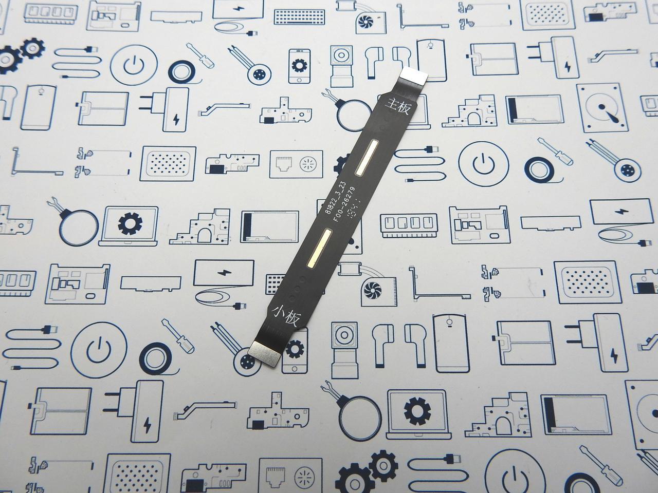 Основной шлейф Meizu Note 8 M822H Сервисный оригинал
