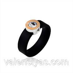 Каучуковое кольцо Ганновер с серебром и золотом