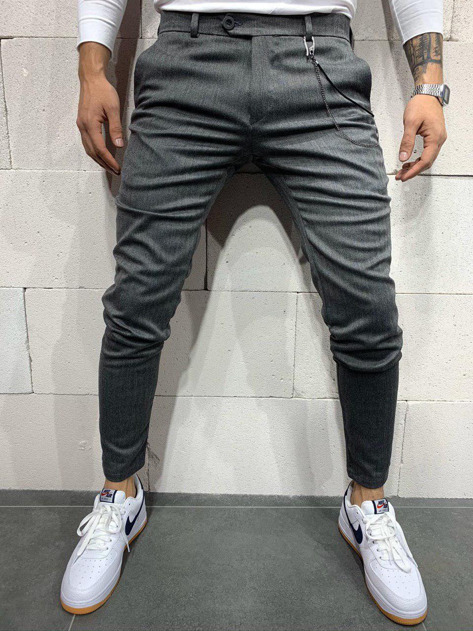 Мужские брюки 2Y Premium 1050 antracit