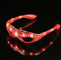 Очки карнавальные светящиеся маска для мальчика Человек Паук