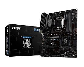Материнська плата MSI Z390-A Pro Socket 1151