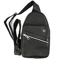 Сумка-рюкзак мужская кожаная Bonny 2215 Black