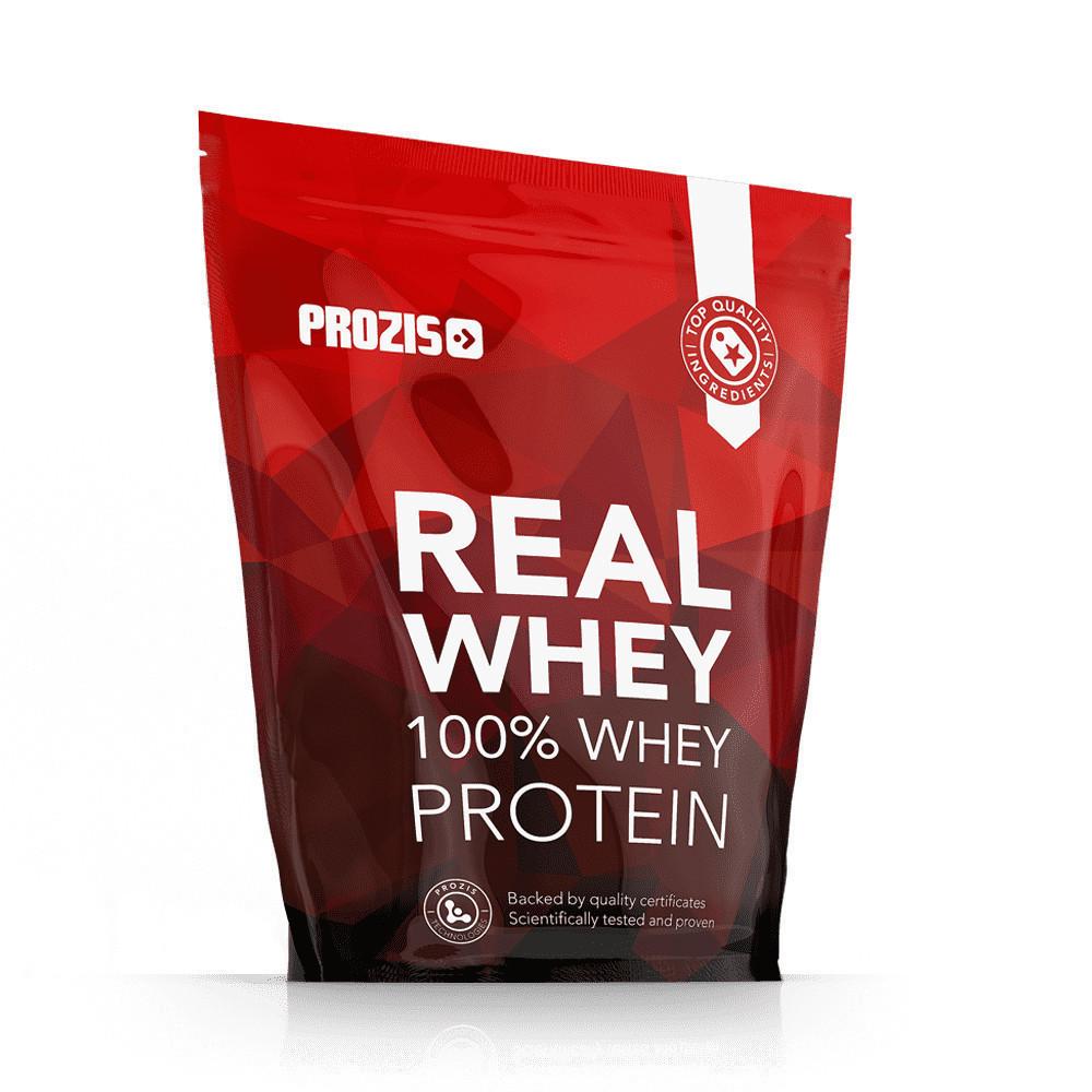 Prozis 100% Real Whey Protein - 1 кг - шоколад - лесной орех, фото 1