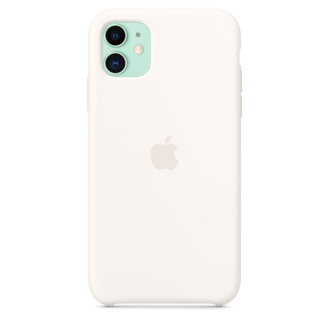 """APPLE SILICON CASE IPHONE 11/11Pro/11 PRO MAX """"WHITE"""""""