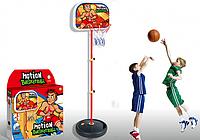 Баскетбольное кольцо на стойке HF 607, высота 140 см