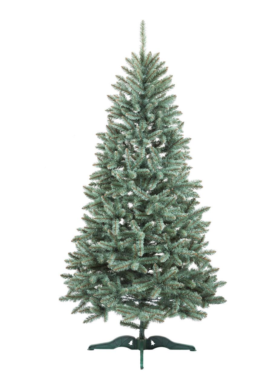 Искусственная елка 250 см Голубая (ПВХ)