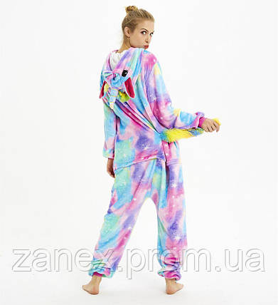 Пижама Кигуруми Звездный Единорог ДЕТСКАЯ рост 130-140, фото 2