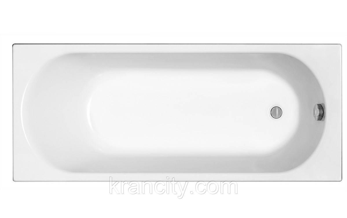 Ванна акриловая KOLO OPAL PLUS прямоугольная 160х70 см, без ножек