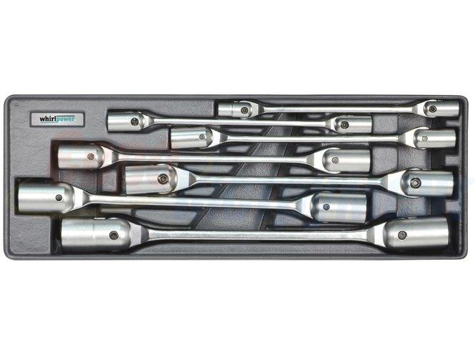 Набор ключей торцевых с карданом WHIRLPOWER AN-WR05 8-22 мм (7 предметов)