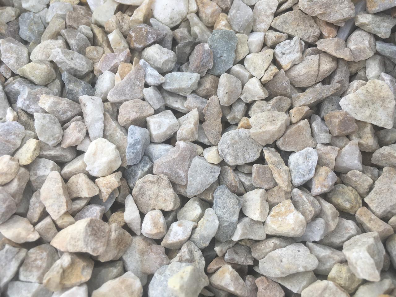 Природній щебінь та камінь Фракція 5-10 (20 кг)