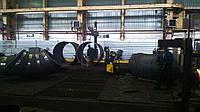 Изготовление отводов больших диаметров