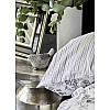 Набор постельное белье с пледом Karaca Home - Brave silver 2020-1 серебро евро, фото 4