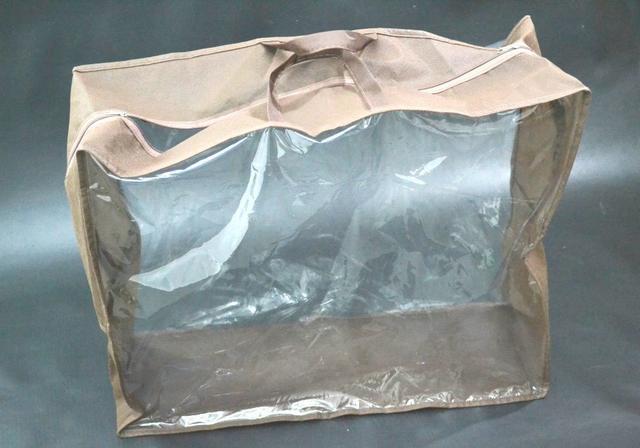 Упаковка для текстиля из полиэтилена (на молнии)