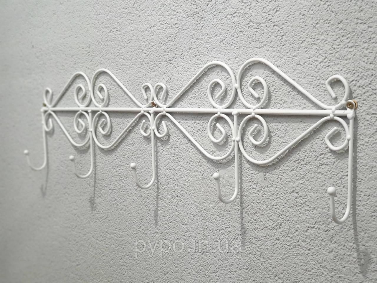 Вешалка -крючки декоративная Fibona ТИП4 Большая 60х15х3,5 см