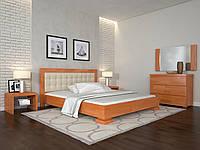 Кровать Arbor Drev Монако бук 120х200, Ольха