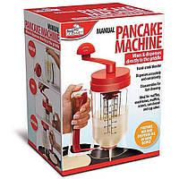 Ручная машинка для замешивания теста для блинов панкейков PANCAKE MACHINE