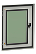 Шафа настінна металева ІР66 600*400*200, серія MHS, фото 3