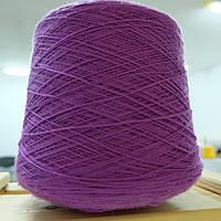 Пряжа  мериносовая шерсть  SUPER SOFT , фиолетовый